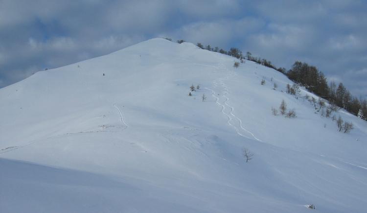 Gipfelhang Labenberg. (© WTG)