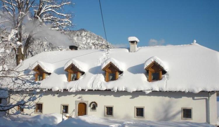 Hausansicht Winter (© berger)