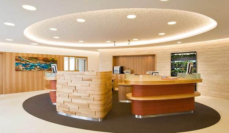 RB Süd - Innenansicht (© Raiffeisenbank Attersee Süd)