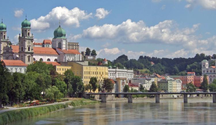Nun haben Sie das Ziel dieser Etappe erreicht: Passau (D). (© Ferienwohnungen Passau)