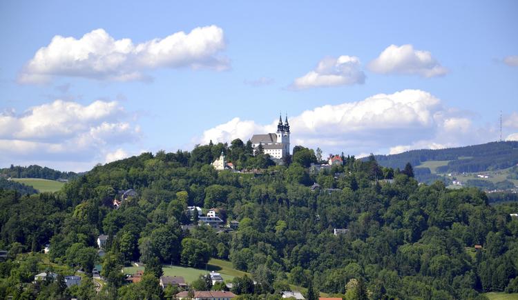 Blick auf Pöstlingberg (© LinzTourismus LEckerstorfer)