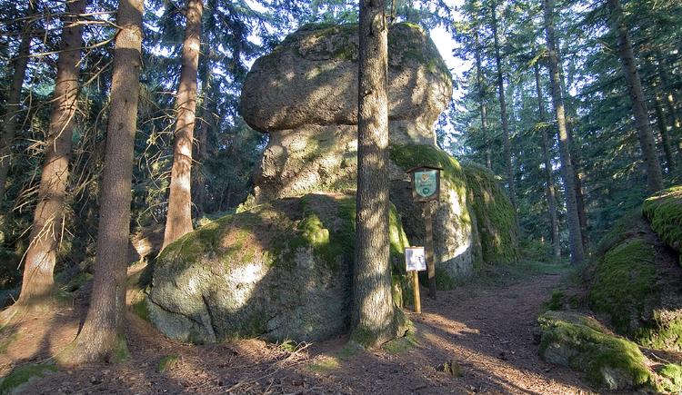 Phallusstein (© Naturpark Mühlviertel)