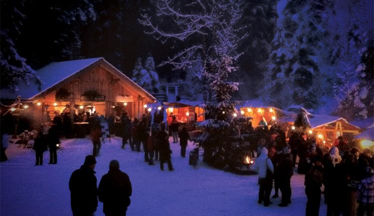 The extraordinary christmas market. (© Ferienregion Dachstein Salzkammergut / Grill Elisabeth)