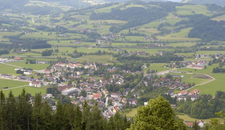 Ausblick auf Windischgarsten (© Pyhrn-Priel Tourismus GmbH/Jack Haijes)