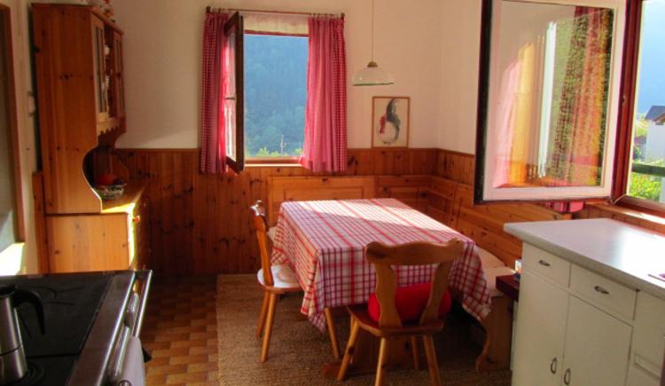 Ferienhaus Rosalinde - Küche Essecke