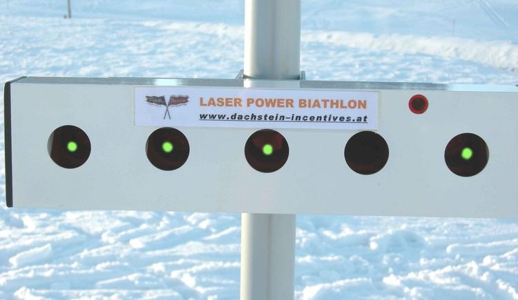 Laserbiathlon. (© Rudi Vonach)