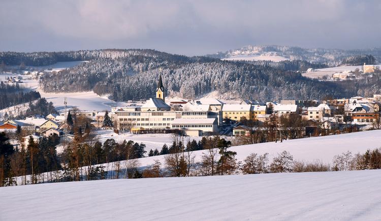 Winterstimmung in Alberndorf (© Johann Stadler)