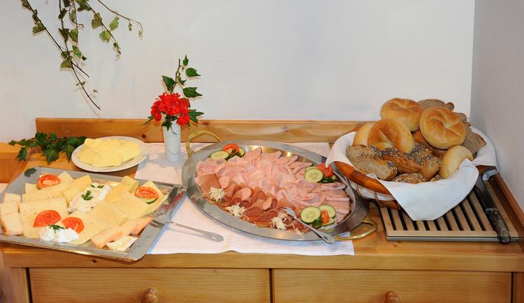Schießl's Gästehof Frühstücksbuffet