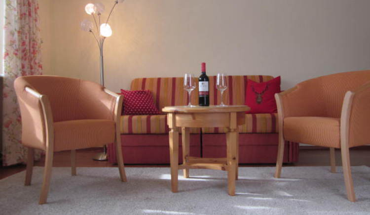 Sofa (© Appartement Bergblick I -