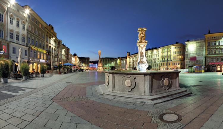 Linzer Hauptplatz (© Linztourismus Johann Steininger)