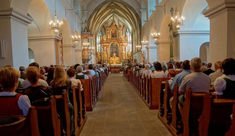 Kirchenraum Windischgarsten (© Pfarre Windischgarsten)