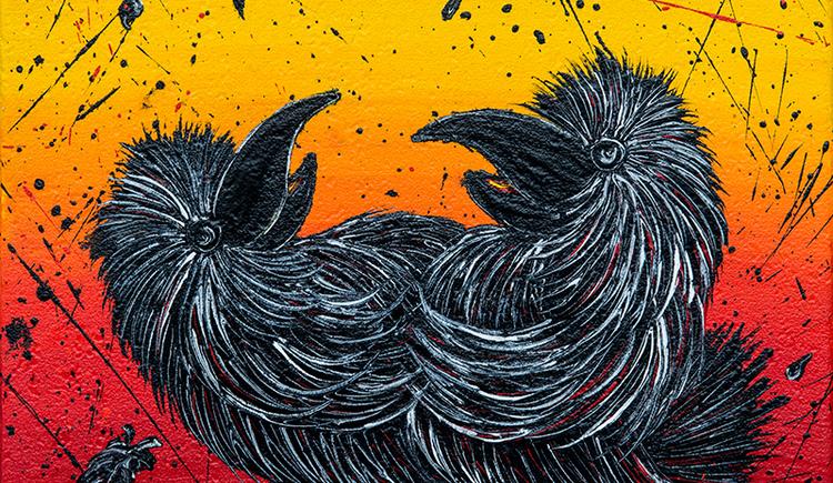 Ravens-Waltz (© Karoline Schodterer, Wolfgang Stadler)