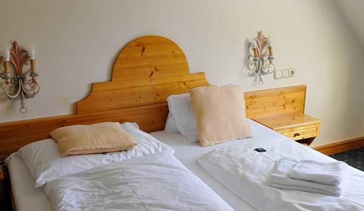 Zimmerbeispiel im Hotel Das Rössl in Windischgarsten (© Lettner)