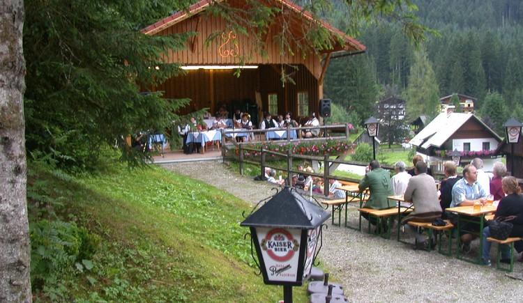 Pavillon für Veranstaltungen
