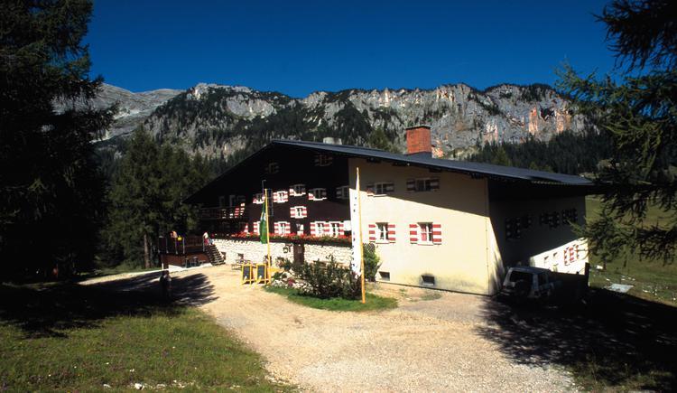 Spital am Pyhrn: Wurzeralm mit Linzerhaus und Rote Wand. (© OÖ. Tourismus Marketing/Himsl)