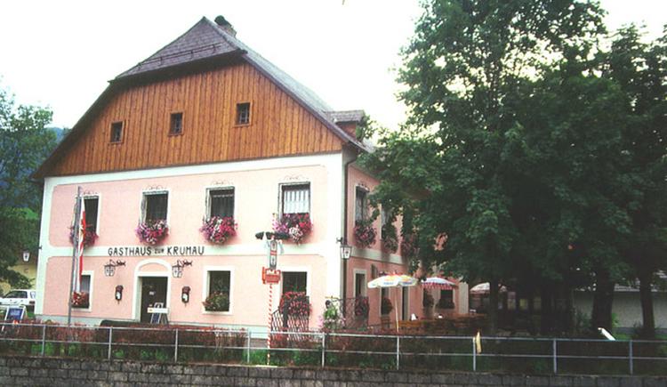 Gasthaus zur Krumau - Weyer (© TV Nationalpark Region Ennstal)