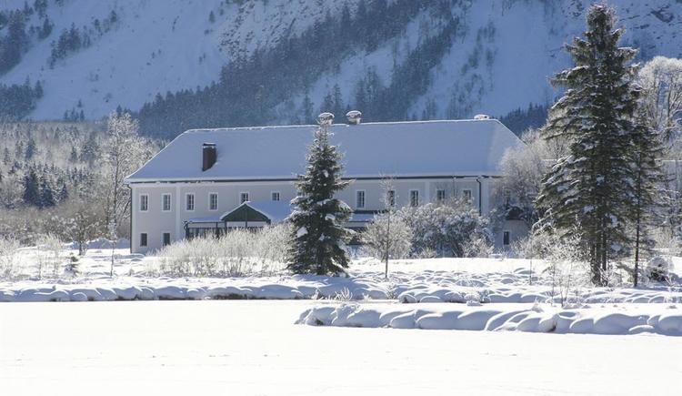 GH Seehaus im Winterschlaf (© A. Hofmann)