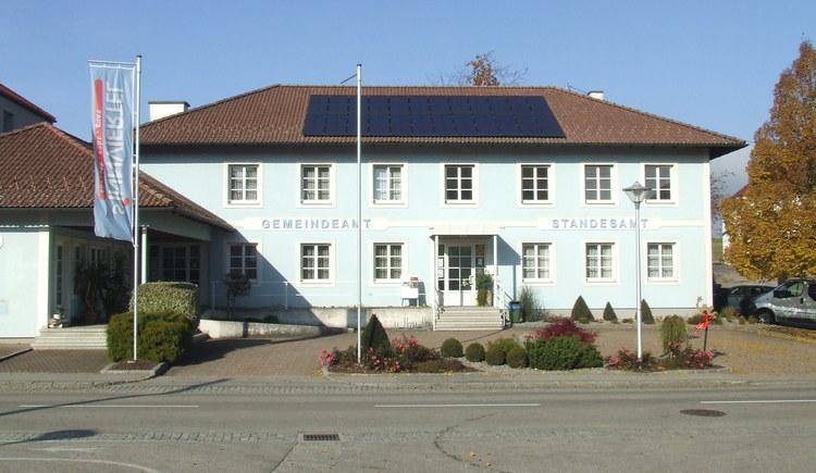 Gemeindeamt Roßbach.jpg (© Gemeinde St. Veith)