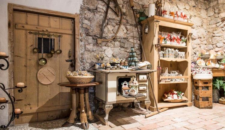 Products made of salt in the Salt House Hallstatt
