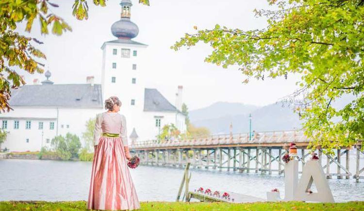 Hochzeit im Seeschloss Ort (© Karin Ahamer)