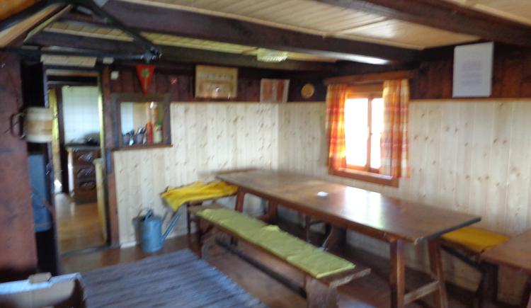Hütte im Gastbereich