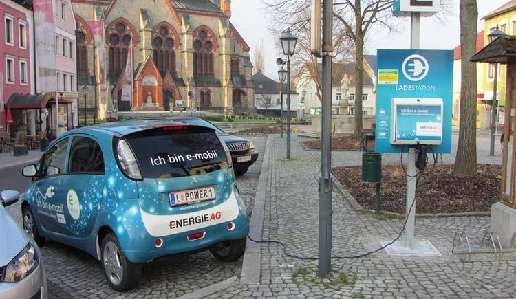 E-Tankstelle Aigen-Schlägl (© Marktgemeinde Aigen-Schlägl)