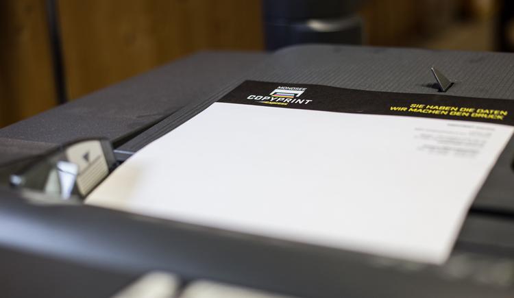 Papier im Drucker