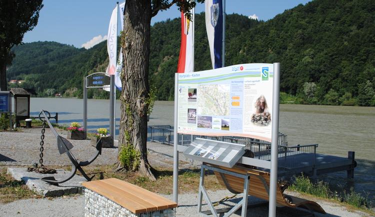 Donausteigstartplatz Kasten (© Gemeinde Vichtenstein)