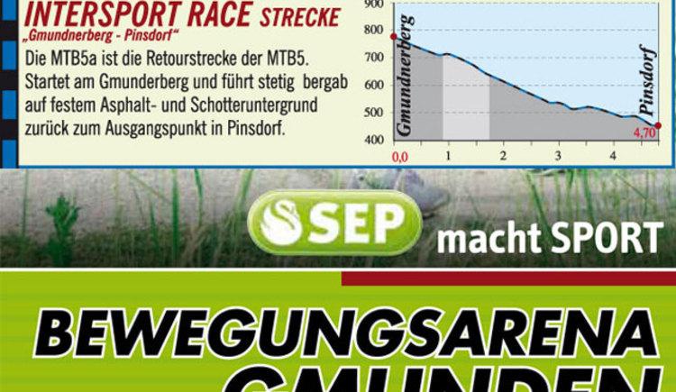 Gmundnerberg-Pinsdorf - Intersport Race Strecke by Runnersfun MTB5a (© Runnersfun)