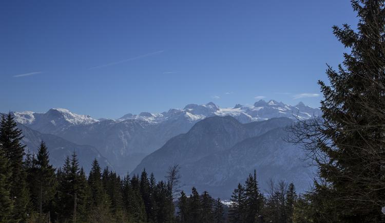 View on the Dachstein glacier.