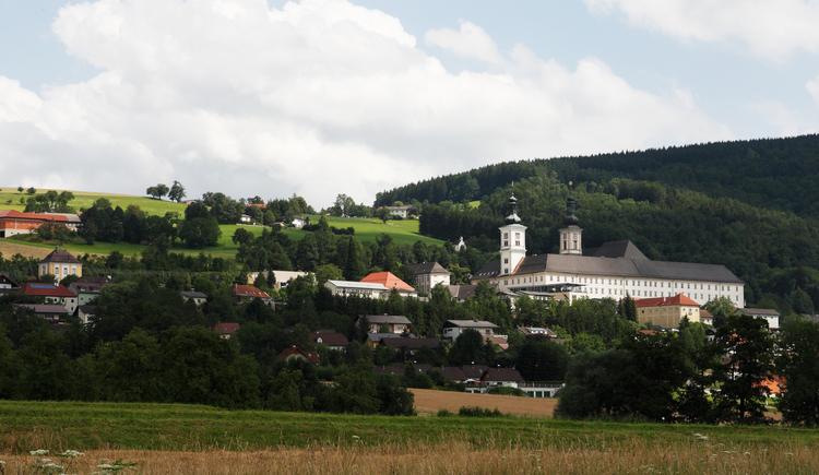 Ortsansicht Schlierbach (© ARGE Oberes Kremstal/K. Mitterhauser)