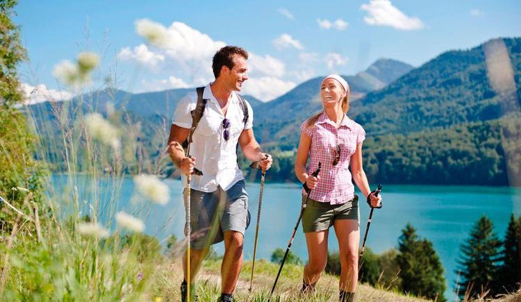 Wandern um den See (© Tourismusverband Hintersee)