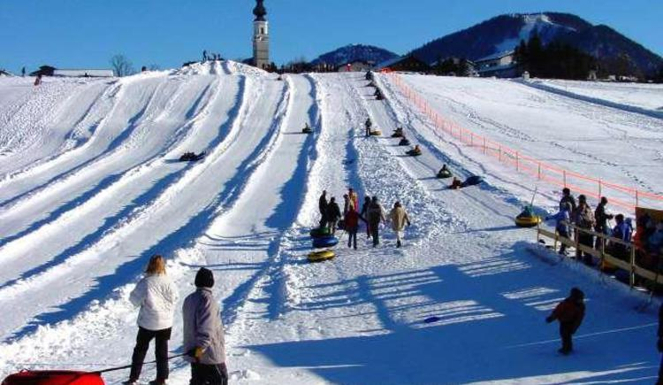 Snowtubing in Faistenau