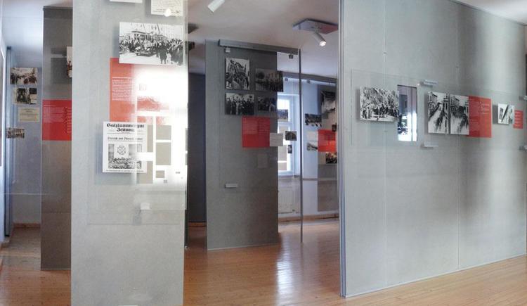 Ausstellungsraum (© Zeitgeschichtemuseum Ebensee)