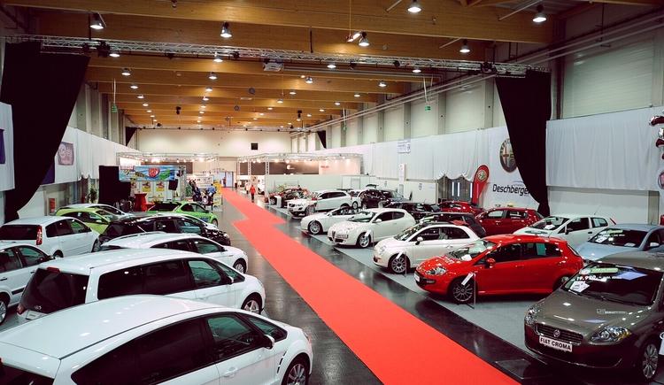 Messehalle Produktpräsentation (© Messe Ried GmbH)