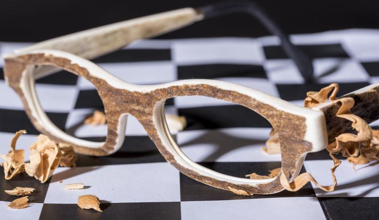 Unikatbrillenfassung von Goisern Optik aus Hirschhorn
