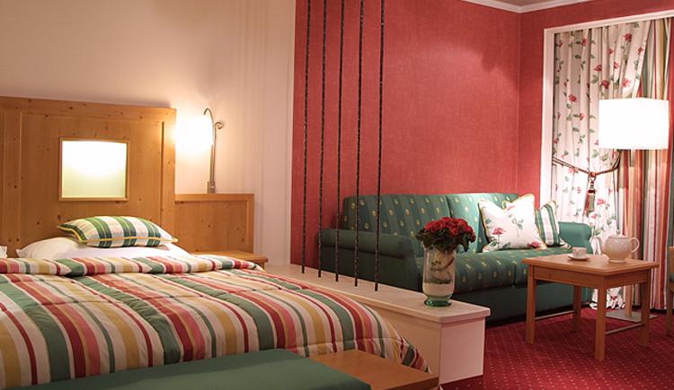 Eines der schönen Voglauer Zimmer im Gasthof zur Wacht - Referenzzimmer