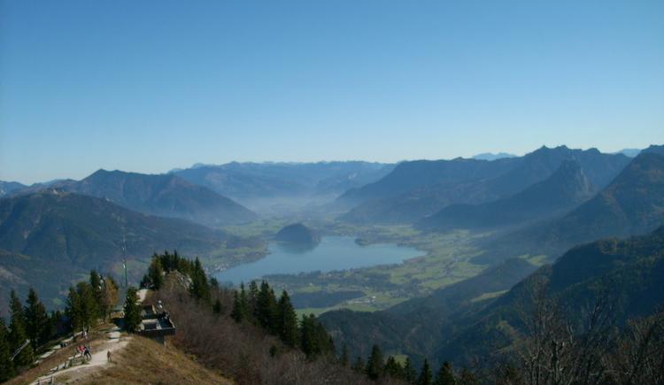 Blick zum Wolfgangsee (© Tourismusverband Faistenau)