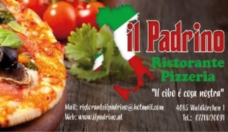 Logo Pizzeria. (© il Padrino)
