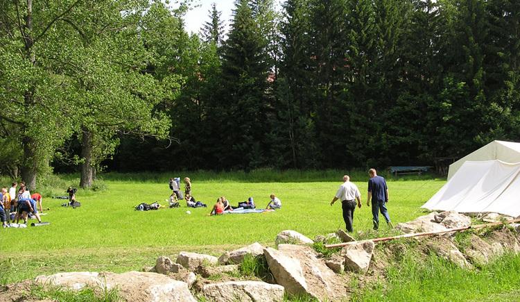 Campingmöglichkeit Ulrichsberg.