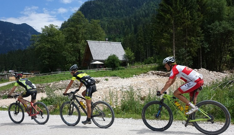The Champions-class route of the Salzkammergut Trophy (2nd weekend of July each year) directly passes along our lodge