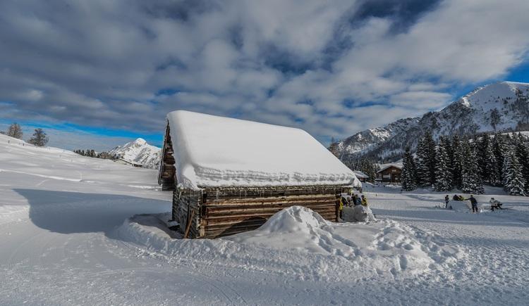 Winterstimmungen auf der Postalm. (© Rudi Vonach)