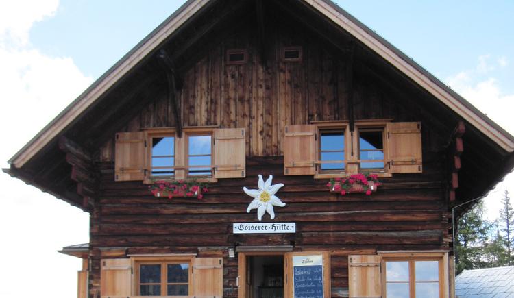 Goisererhütte (© Gisbert Rabeder)
