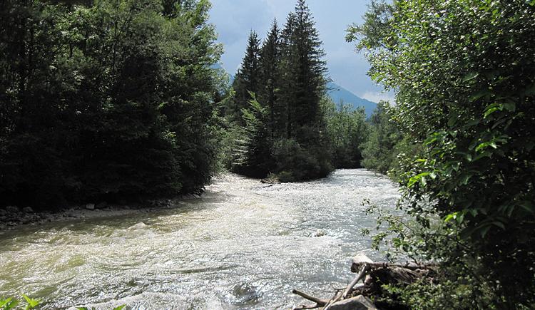 Der Weißenbach mündet in die Ischl (© Gisbert Rabeder)