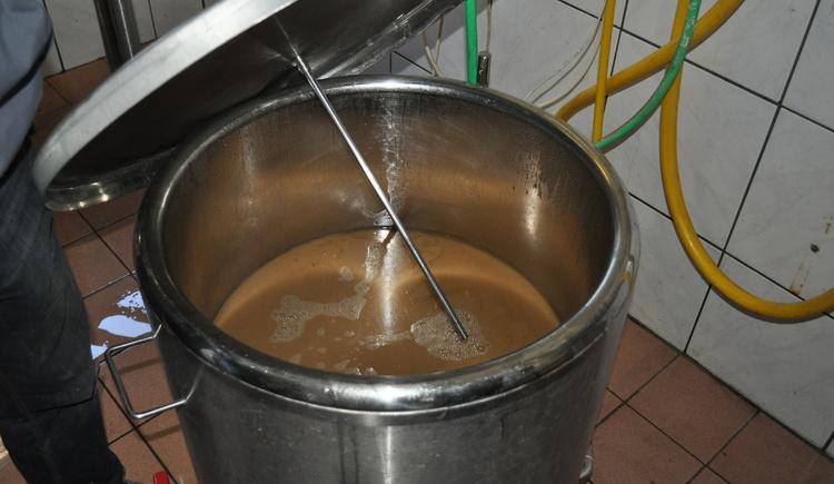 Selbstgebrautes Bier. (© Bräuer-Reiter)