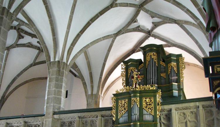 Pfarrkirche Unterweißenbach_innen. (© Mühlviertler Alm)