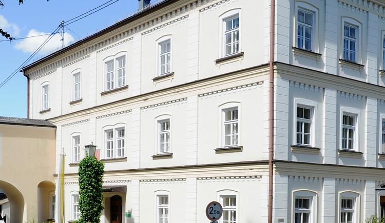 Pilgerzimmer im Kloster Maria Schmolln - Außenansicht Haus