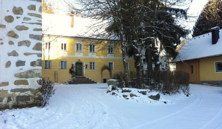 Blickrichtung Herrenhaus