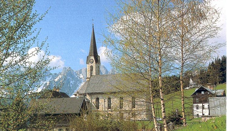 Die evangelische Kirche in Gosau.. (© Franz Lechner)