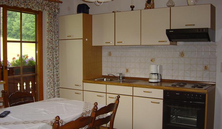 Küche von der Ferienwohnung
